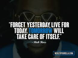 Rick Ross Quotes Interesting 48 Great Hip Hop Quotes About Happiness In Life Wealthy Gorilla