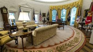 oval office rugs. The Oval Room Trumps Newly Renovated Office Living Rugs .