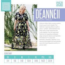 Deanne Skirt Size Chart Dress Deanne Ii Price Reduced Shoppe