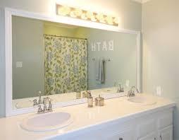how do you frame a bathroom mirror. frame a bathroom mirror how do you r