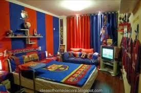 Great Cool Kids Bedroom Theme Ideas Football Theme For Cool Kids
