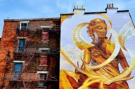 art works cincinnati the golden muse mural by tim parsley from artworks in cincinnati