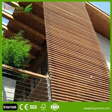 exterior wood wall plastic exterior wall decorative panel fire resistant wood plastic composite wall board wood