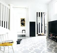 black and white linoleum tile yes you can paint vinyl