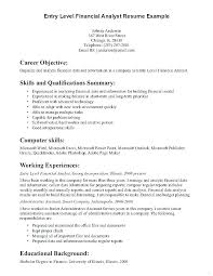 Entry Level Objectives For Resume Entry Level Objectives For Resume ...