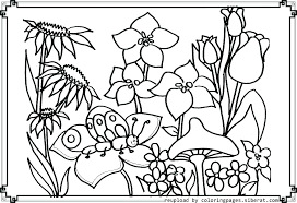 coloring pages with flowers g pages garden g sheets printable pages flowers flower page fun free