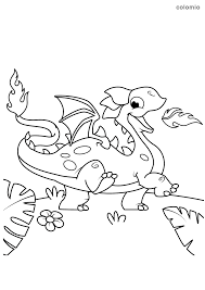 Dragons were found in the history and really these were very horrible. Dragons Coloring Pages Free Printable Dragon Coloring Sheets