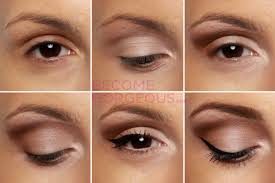 pin up eye makeup step by step