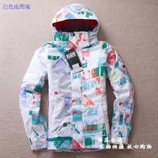 Patterned Ski Jackets