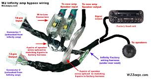jeep grand cherokee wiring harness diagram  infinity amp wiring diagram 2001 jeep infinity auto wiring on 2001 jeep grand cherokee wiring harness