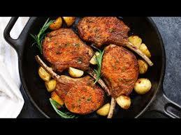 pan fried pork chops never make a dry