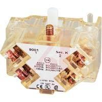 schneider electric 9001ka1 screw terminals 10a 600vac dpst schneider electric 9001ka1 switch part contact block dpst 1no 1nc