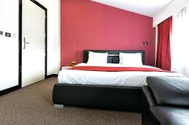 bedroom with red walls bedroom decor with red accent wall
