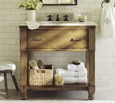 bathroom basement simple bathroom vanity but maybe with a concrete countertop