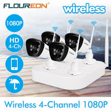 <b>Floureon 4CH Wireless</b> CCTV 1080P DVR Kit-buy at a low prices on ...