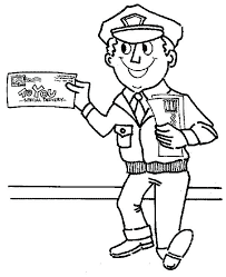 Community Helper Coloring Sheets Community Helpers Coloring Book