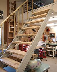 basement stairs. Click Here To Learn Two Simple Methods For Attaching Railings Your Basement Stairs