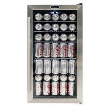 bottle beverage refrigerator in black