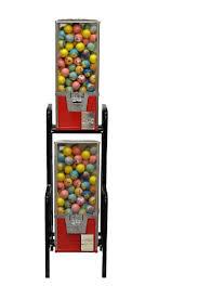 2 Capsule Vending Machine Beauteous 48 Big Pro Double 48 Toy Capsule Vending Machine With Step Stand