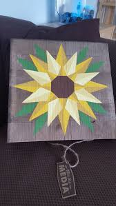 Sunflower Barn Quilt Pattern
