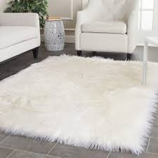 white fur area rug area rugs fur area rug white rugs for bedroom lovely fantastic