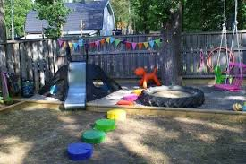 This DIY backyard playground from a talented family in Sweden is truly  inspired. It shows you just what a little DIY magic (and a lot of cans of  spray ...
