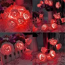 Buy Citra <b>30 Led String</b> Strip Light Rose Flower Shape Diwali ...
