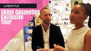 exclusive tour of skins cosmetics sandton with master makeup artist from the netherlands
