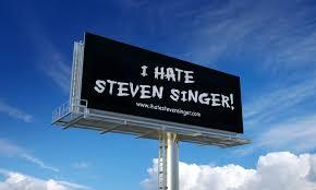 The Legend Behind Those 'I Hate Steven Singer' Billboards ...