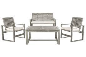 Ozark 4-Piece Outdoor Set   Ashley Furniture HomeStore
