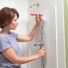 How to Install Towel Bars and <b>Hooks</b> on Fiberglass <b>Tub</b> and <b>Shower</b> ...