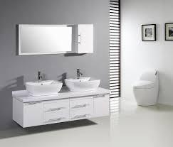 Bathroom Vanities Magnificent White Modern Bathroom Vanities