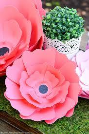 Wedding Paper Flower Centerpieces Paper Flower Centerpiece A Pumpkin And A Princess