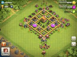 Clans Of Clans Base Design Th6 Clash Of Clans Goonsquadelite