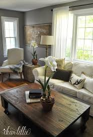 like all the components of this room living room with gray wallsgrey living room curtainsgrey