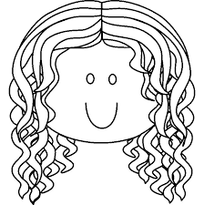 Small Picture Free coloring pages draw a face for kids little girls face with