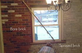 barebrick ideal how to paint interior brick