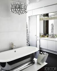 white and black bathrooms