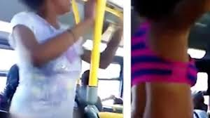 Asian girl stripped on bus