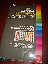 Dmc Stitchers Color Guide 391 Samples 6 Strand Embroidery