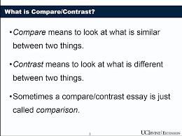 compare contrast essay video lecture university of california compare contrast essay video lecture university of california irvine coursera