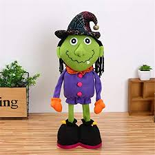 ATOLY <b>Halloween Decorations Cartoon</b> Witch Doll Standing Pose ...