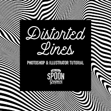 Tutorial Time Distorted Lines Effect Zoollcom Graphic Design