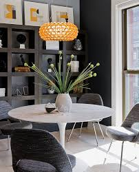 view in gallery small dining room idea