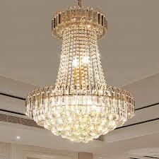 luxury 5 light e12 e14 base crystal ball chandelier