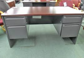 new hon 38000 series double pedestal office desk h38155