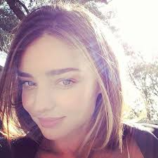 the stunning miranda kerr shared a natural beauty selfie before shooting a caign for h m