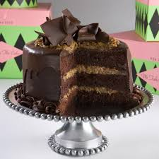Decorated German Chocolate Cake German Chocolate Cake Recipe Chocolate Cakes German Chocolate