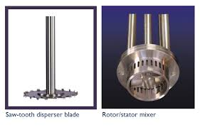 saw tooth disrs vs rotor stator