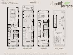 Townhomes For Rent  Parkmerced In San Francisco CA  ParkmercedTownhomes Floor Plans